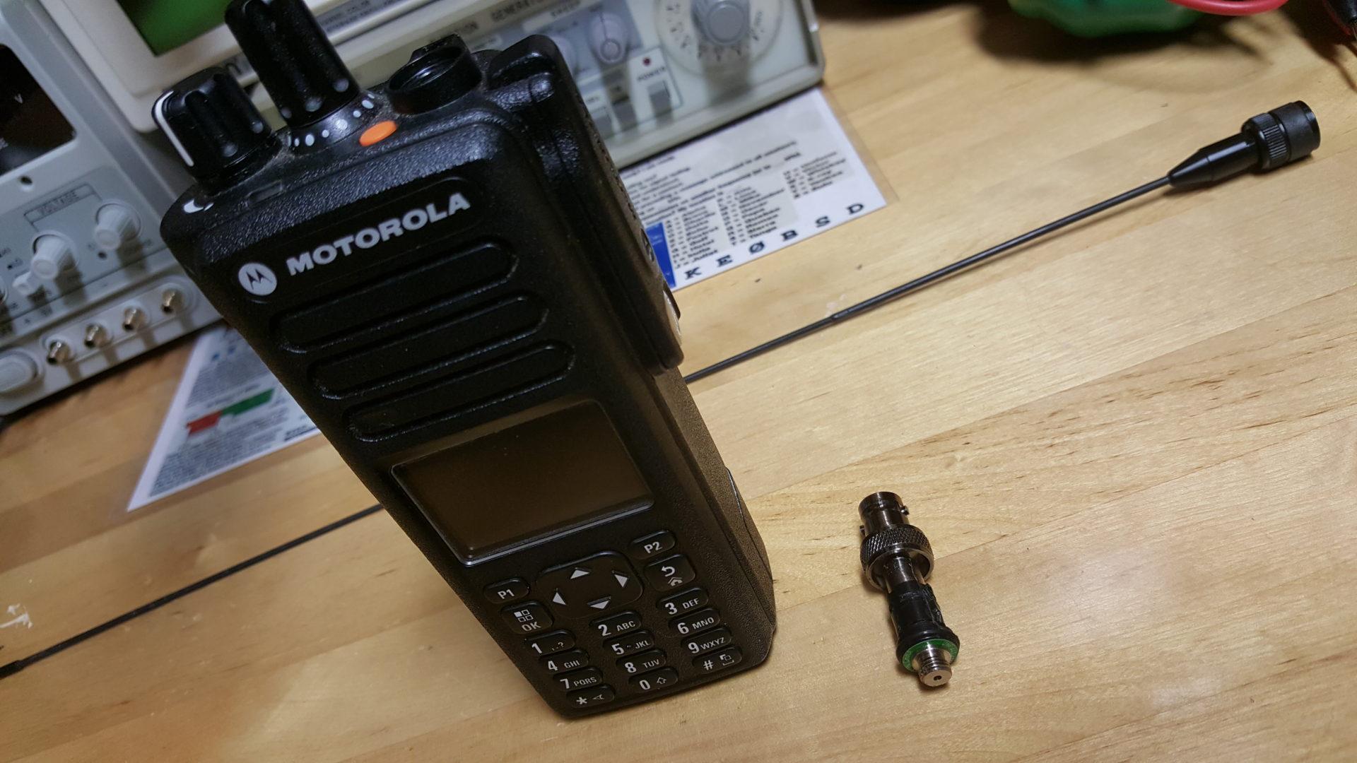 Modding the Motorola XPR-7550 stock antenna | N0AGI - Nagi